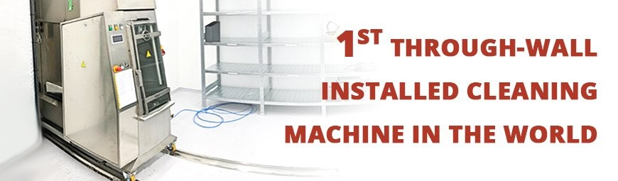 World-unique installation of DCT through-wall machine